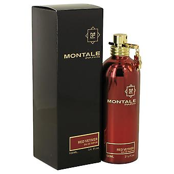 Montale red vetiver eau de parfum spray by montale 540120 100 ml
