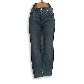 H di Halston Women's Jeans Premier Denim Ankle Length Blue A302020
