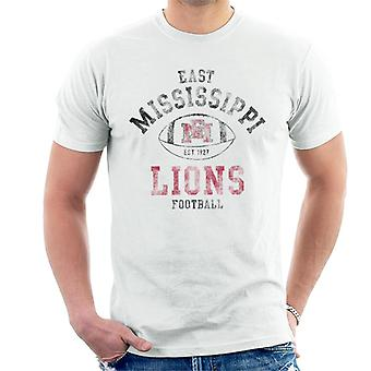 East Mississippi Community College Lions Football Men's T-Shirt