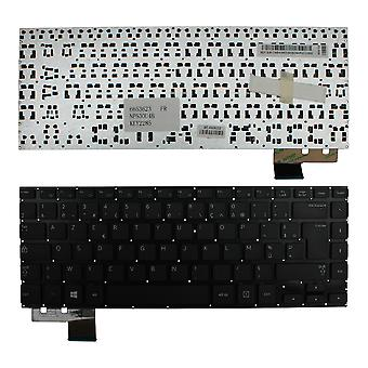 Samsung NP530U4BH svart Windows 8 franska layout Replacement laptop tangentbord