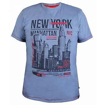 DUKE Duke Fashion New York Print T Shirt