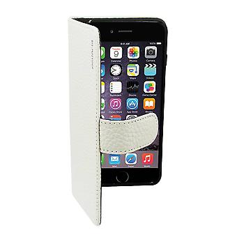 Suncia Leather5 Case for Apple iPhone 6 Plus - 6s Plus White