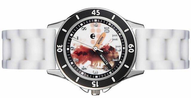 Pour enfants Kids Star Wars Rogue un poignet montre bracelet blanc ROG3041