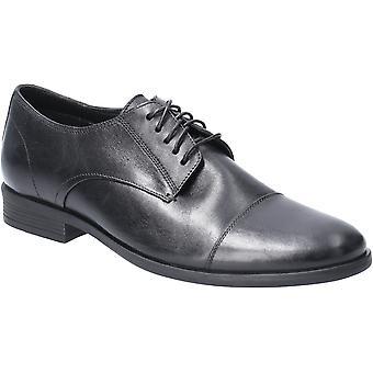 هش الجراء الرجال أولي كاب تو الدانتيل حتى الجلود أحذية أكسفورد