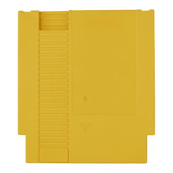 Compatible replacement game cartridge shell case for nintendo nes - yellow