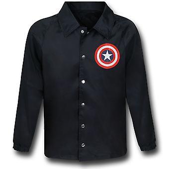 Capitán América Escudo Negro Cortavientos