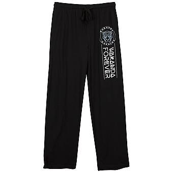 Pantera Negra Wakanda Forever Unisex Pajama Pantalones