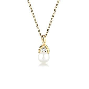 Elli PREMIUM Gold-yellow Women's pendant necklace - 0108930317_45