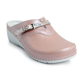 Batz LISA Light and Flexible Handmade High Quality Leather Womens Ladies Clogs Mules Slippers Shoes