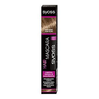 Syoss Hair Mascara Cobertura Temporal #rubio Oscuro 16 Ml For Women