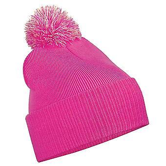 Beechfield Girls Snowstar Duo Extreme Winter Hat