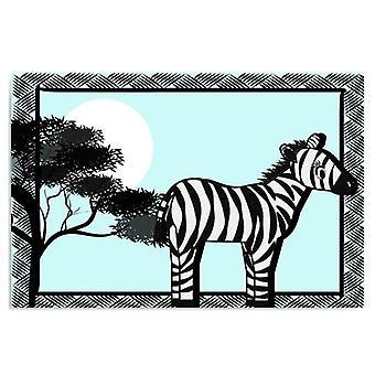 Pannello Deco, zebra 5