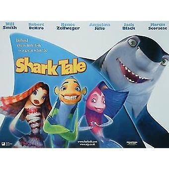 Shark Tale (kaksipuolinen) alkuperäinen elokuva juliste