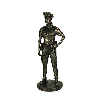 Police Woman To Protect and Serve Police Officer Tribute Statue