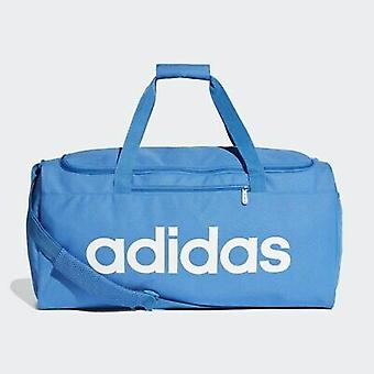 Adidas Linear Core Duffel Bag Medium Blue DT8621