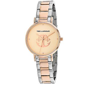 Ted Lapidus Women's Classic Rose gold Dial Watch - A0742YRPX