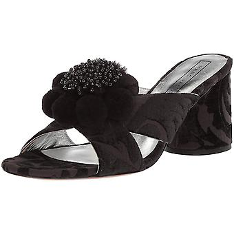 Marc Jacobs naisten Aurora Pompom mule sandaali
