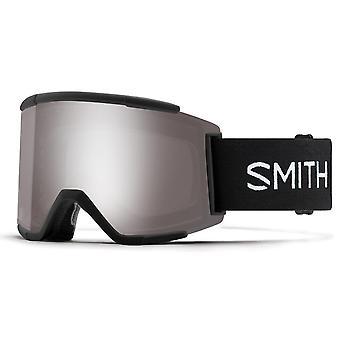 Smith Squad XL Black - 95T - Sun Platinum Mirror