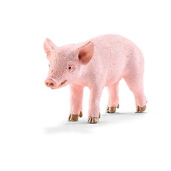Schleich Farm World Piglet Toy Figure Standing (13783)