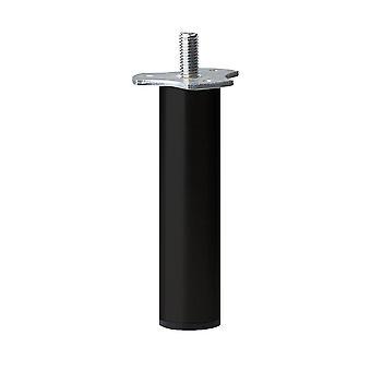 Perna de móveis pretos 12 cm (M8)