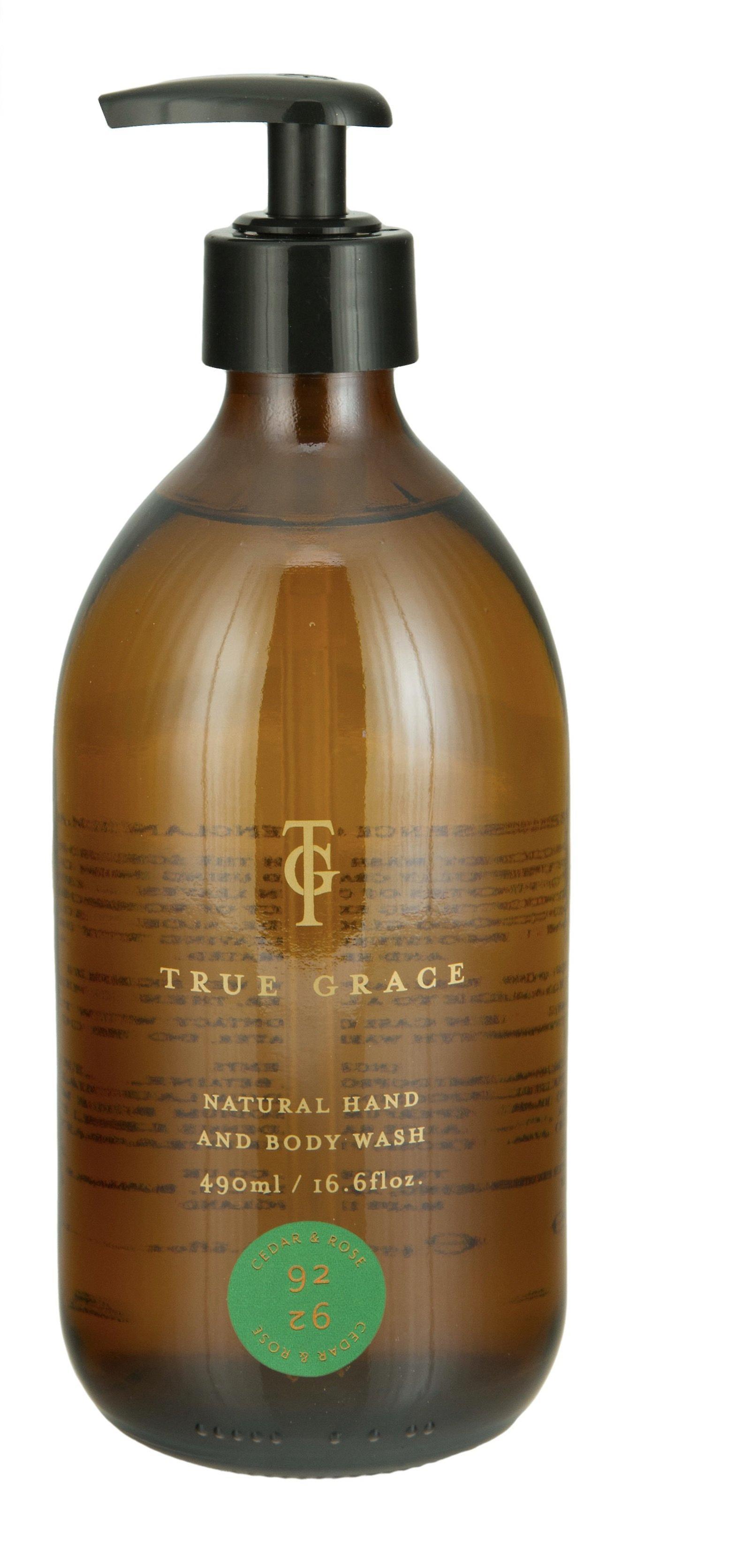 Burlington cedar and rose - natural shower gel and hand soap, 490ml