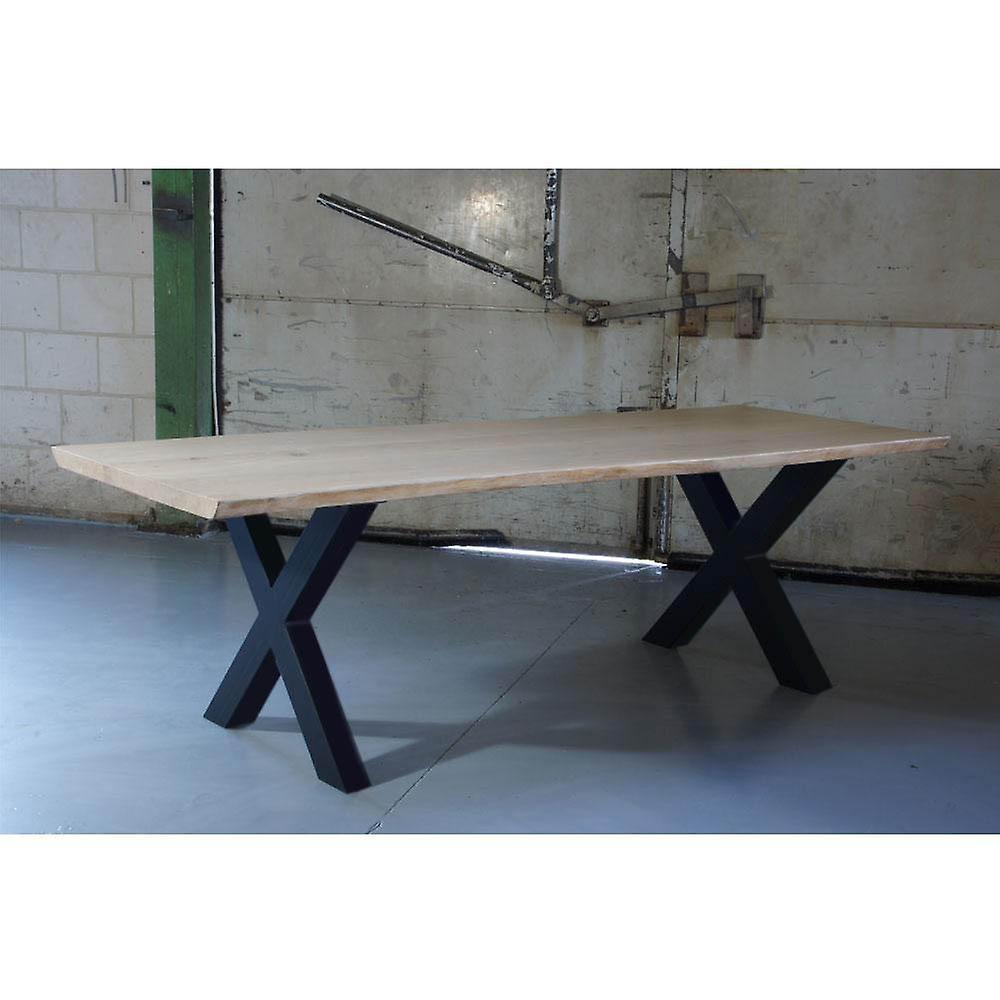 Jambe de table Black X 72 cm (tube 10 x 10)