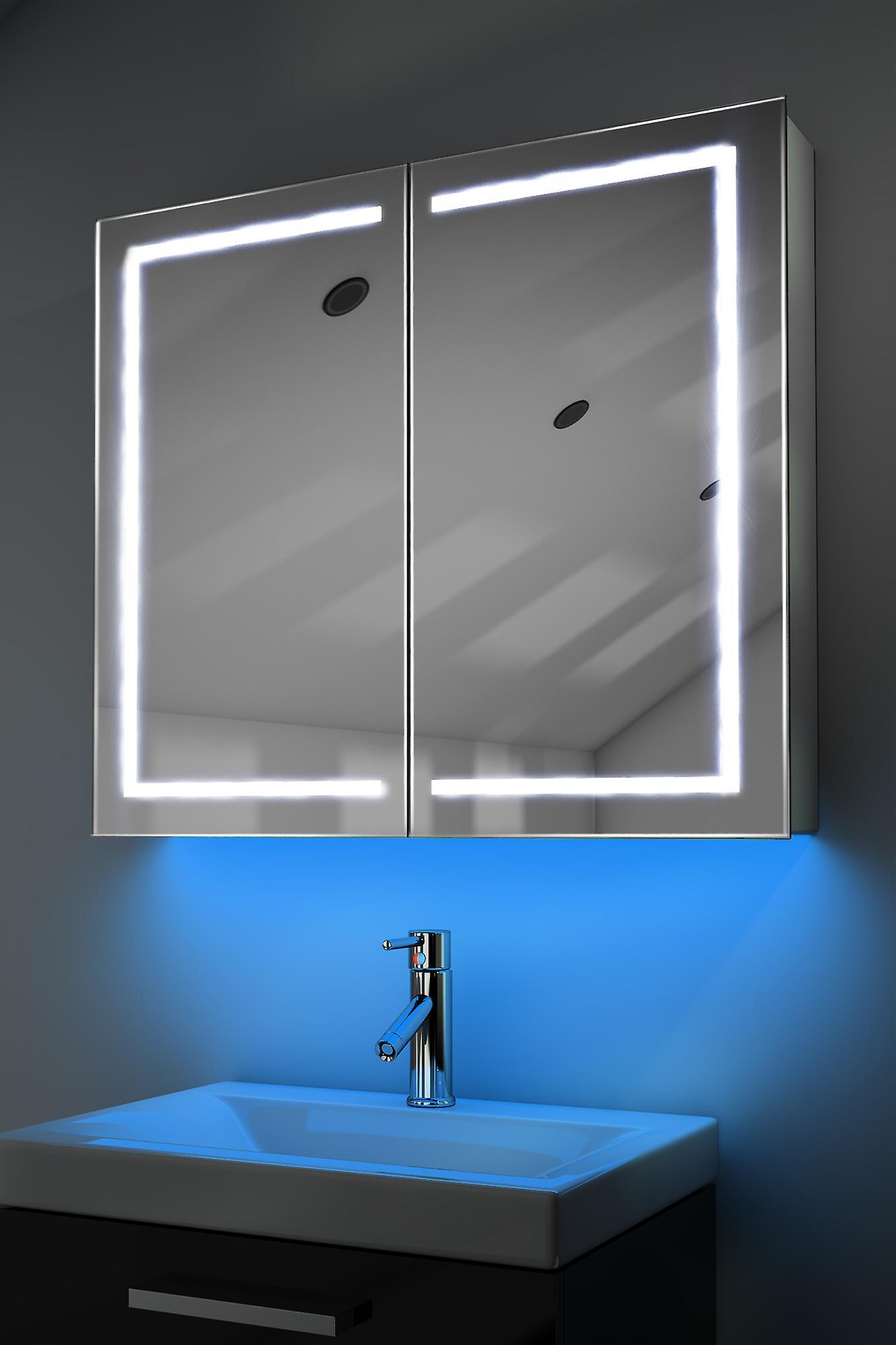 Armoire avec RGB, capteur & interne rasoir k368rgb de désembuage