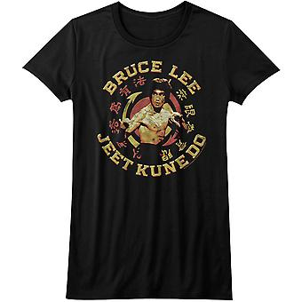 American Classics Juniors Bruce Lee Jeet Kune Do Master T-Shirt - Schwarz