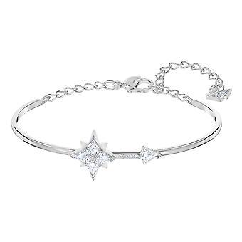 Swarovski armband 5511401-Jonc M tal Rhodi silver Hope Etoil kvinnor