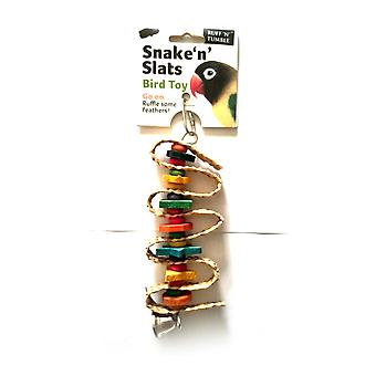 Ruff N Tumble Snake N Slats Bird Toy