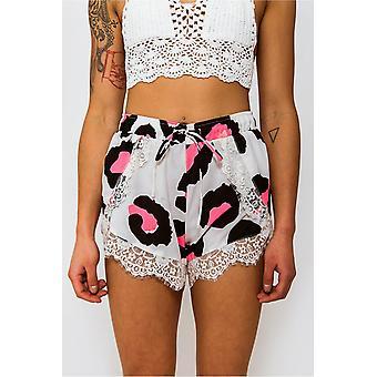 Tempest Eyelash Lace Trim Shorts