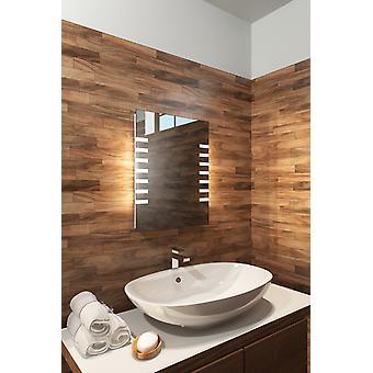 RGB Shaver Bathroom Mirror with Sensor, Shaver & Demister k1011rgb