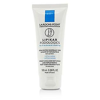 La Roche Posay Lipikar Podologics Smoothing And Restoring Lipid-replenishing Foot Care Concentrate - 100ml/3.38oz