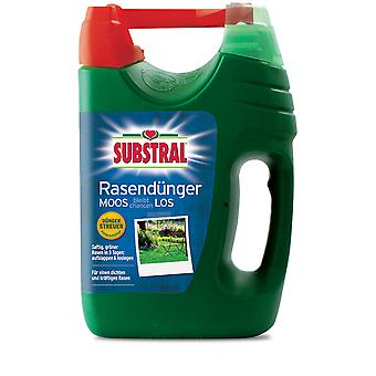 SUBSTRAL® lawn fertilizer moss remains chanceLOS, 4 kg