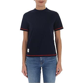 Thom Browne Fjs049a01454415 Women's Blue Cotton T-shirt