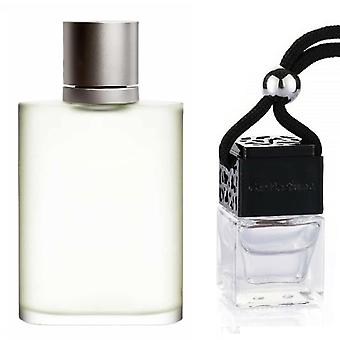 Giorgio Armani Aqua Di Gio For Him Inspired Fragrance 8ml Black Lid Bottle Hanging Car Vehicle Auto Air Freshener