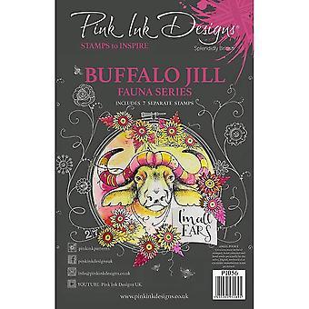Pink Ink Designs Designs Buffalo Jill 7 Clear Stamp