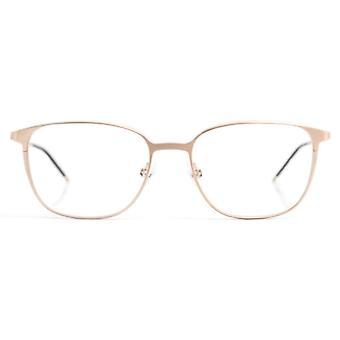 Gotti Leos GLB Brushed Gold Glasses
