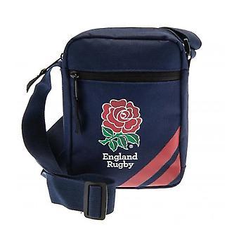 Angleterre Rugby Crossbody Shoudler Man Small Item Travel Bag Blue