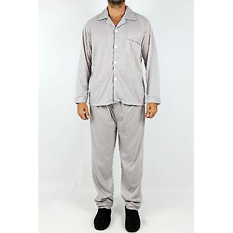 Straight-cut patterned pyjamas