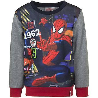 Spiderman boys sweatshirt jumper '1962'