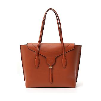 Tod's Xbwanxa8300n95g807 Women's Brown Leather Tote
