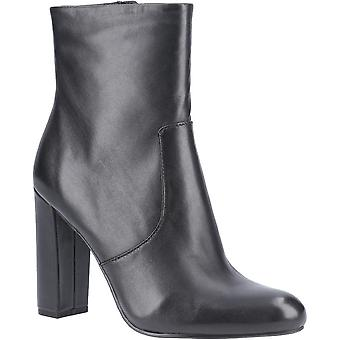 Steve Madden Womens Editor Zip Up Leather Ankle Boots