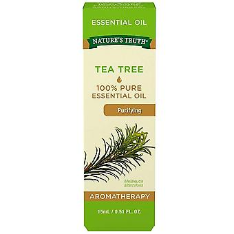 Nature's truth essential oil, tea tree, purifying, 0.51 oz
