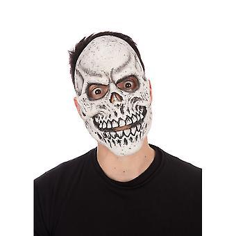 Bristol Neuheit Unisex Erwachsene Skelett Grin Halloween Maske