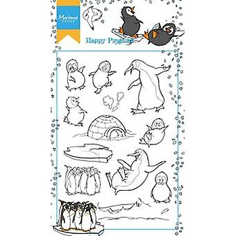 Марианна Дизайн Ясная Марка - Хэттизапос;s Счастливые Pinguins HT1628