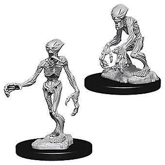 Pathfinder Battles Deep Cuts Unpainted Miniatures Doppelgangers (Pack of 6)