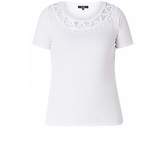 Yest White Jersey T-Shirt
