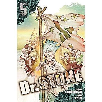 Dr. STONE - Vol. 5 by Riichiro Inagaki - 9781974705016 Book