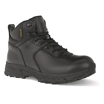 Shoes For Crews Mens Stratton III Waterproof Work Boot Black